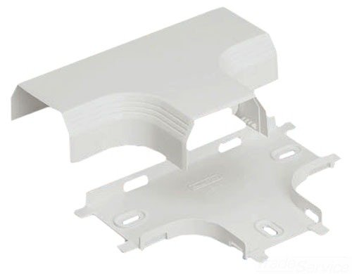 Panduit T45TEI Power Rated Raceway Tee Fitting, Electric Ivory