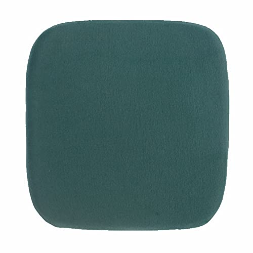 YCSD Cuscini di Seduta,Sedia da Giardino Pad Sedile, Cuscino Imbottito per Sedia 35 * 35 Cm Verde/Grigio (Regolare) Cuscino del Sedile in Feltro Rotondo(Size:Regular35*35,Color:Verde)