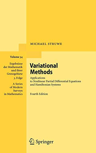 Variational Methods: Applications to Nonlinear Partial Differential Equations and Hamiltonian Systems: 34