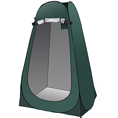 Qdreclod Tenda da Doccia Portatile, Tenda da Toilette da Campeggio, Tenda Pop-up per la Privacy,...