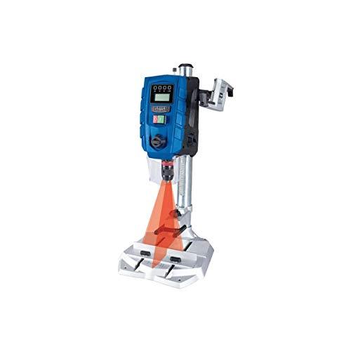 SCHEPPACH DP60 Tischbohrmaschine Bohrmaschine 13 mm LED Laser | 710 W | Drehzahl: 170 – 880 / 490 – 2600 min-1 | Bohrfutterspannbereich: 1,5 – 13 mm | Digitaldisplay | Laser
