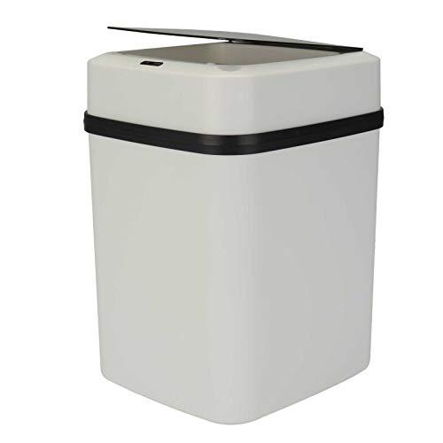YORKING 10L Automatische Smart Auto Sensor Mülleimer Mülleimer Abfallbehälter Küchenmüll für Küche Schwarz
