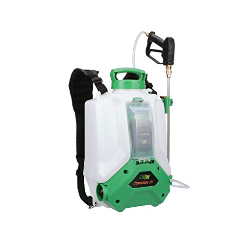 FlowZone Typhoon 2V Lithium-Ion Battery Powered 4-Gallon Backpack Sprayer (Variable-Pressure)