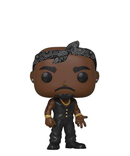Popsplanet Funko Pop! Rocks - Tupac Shakur - Tupac Shakur (Black Vest) #158