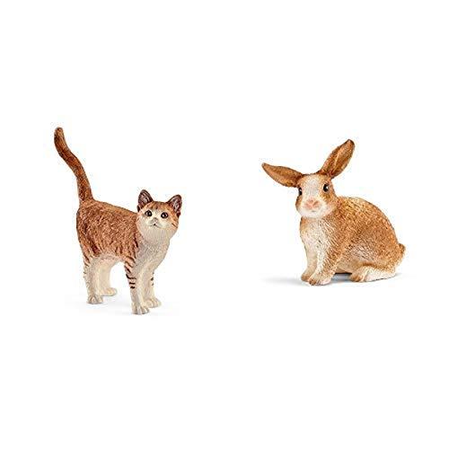 Schleich 13836 - Katze &  13827 Figur