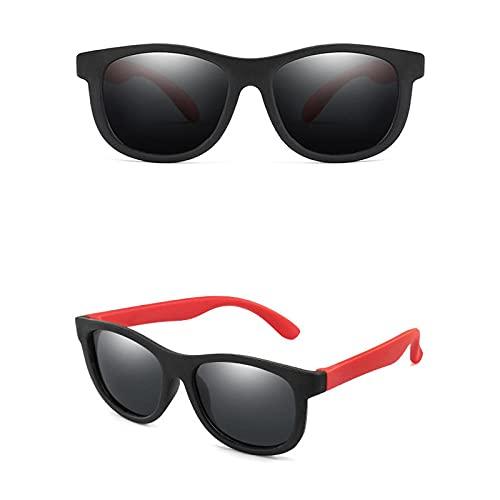WQZYY&ASDCD Gafas de Sol Gafas De Sol Polarizadas Montura De Silicona Parasol Uv400 Gafas-BRG