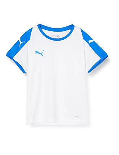 PUMA Kinder Liga Jersey Jr T-shirt, weiß (Puma White/Electric Blue), 164