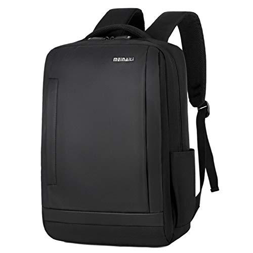 Ghosthunter Backpacks Zaino multifunzionale da uomo da lavoro, con batteria di ricarica USB, Nero (Nero), Taglia unica
