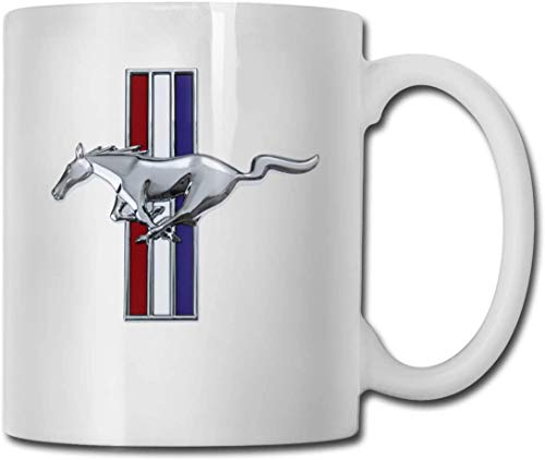 JUKIL Becher Fo-rd Mus-Tang Logo Coffee Mug For Unisex - Large 11oz Capacity | Gifts From Favorite Lover |office/home