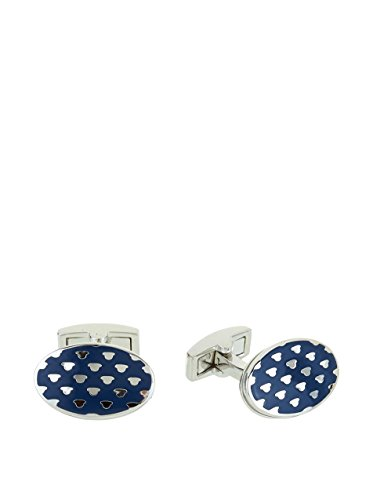 Hackett London Manschettenknopf Myf Bowler Hat Spot dunkelblau