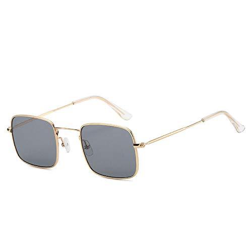 Gafas De Sol Gafas De Sol con Montura Metálica para Mujeres Y Hombres, Gafas De Sol De Diseñador De Lujo para Mujer, Gafas De Moda, Lentes Oceánicas 4