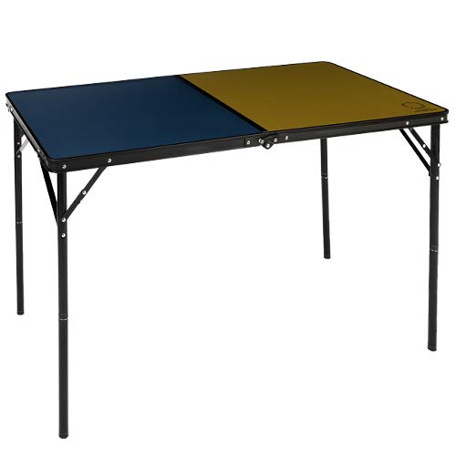 クイックキャンプ×ベイフロー 折りたたみテーブル 120×60cm