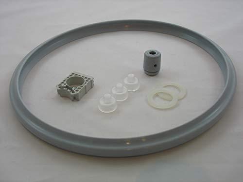 Reparaturset für Schnellkochtopf Silit 22cm Sicomatic S + SN + SL Set3 8-TLG. Dichtungsring, Ventildichtung, Dichtstück etc.