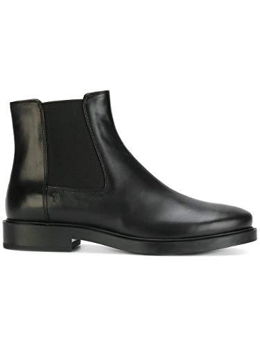 Tod's Luxury Fashion Damen XXW0ZP0V830GOCB999 Schwarz Leder Stiefeletten | Jahreszeit Permanent