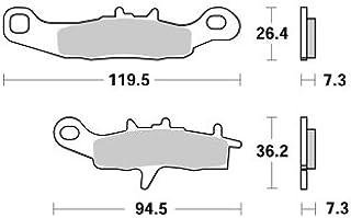 Compatible avec//Remplacement pour KX 80-KX 85-98//15-KIT ENTRETOISES DE ROUE ARRIERE-11-1036