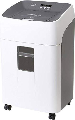 Dahle - Destructora de papel (alimentación automática, 80 hojas/120 hojas/300 hojas, P-4, corte en partículas)