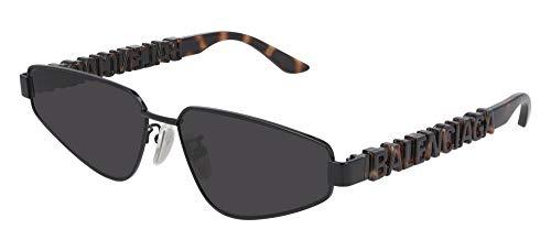 balenciaga occhiali Balenciaga Occhiali da sole BB0107S 002 occhiali Unisex colore Nero lente grigio taglia 61 mm