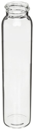 Kimble Kimax 60958A-16 Borosilicate Glass Cylindrical 60mL EPA Water Analysis Vial without Closure, Case of 432