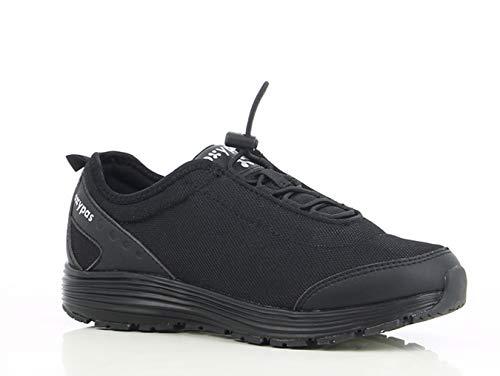 Oxypas Maud SRA Damen Arbeits- und Sicherheitsschuhe | Sneaker, Farbe: Schwarz, Größe: 40