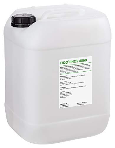 FidoPhos 4060 20 Ltr. Dosierlösung (Alternative zu Grünbeck Exados grün) - neues Etikett, gleicher Inhalt