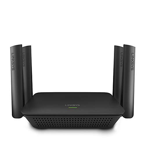 Linksys RE9000 AC3000 Max-Stream Tri-Band Wi-Fi Range Extender, Black (Renewed)