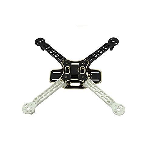 Maquer Accessori per droni F330 330mm Arm Mini Shaft Rack 4 Axis Quadcopter Aircraft Frame F330 Quadcopter Frame Center Plate for DIY FPV Drone-(Color:Frame)