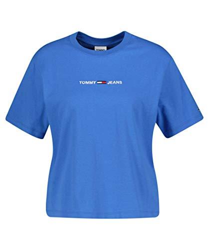 Tommy Jeans Tjw Bxy Crop Linear Logo tee Camiseta para Mujer