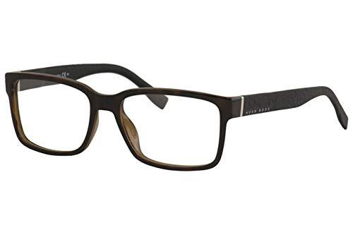 Hugo Boss Boss 0831 Z2I 55 Gafas de sol, Negro (Havana Black), Hombre