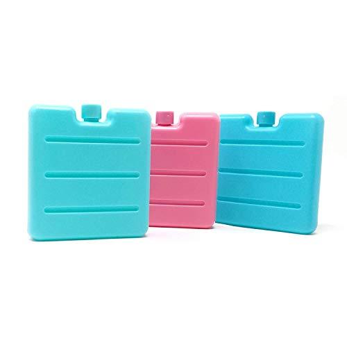 3er Set Kleine Kühlakkus | Mini Kühl-Elemente für die Kühltasche | Kühl-Akku für die Brotdose
