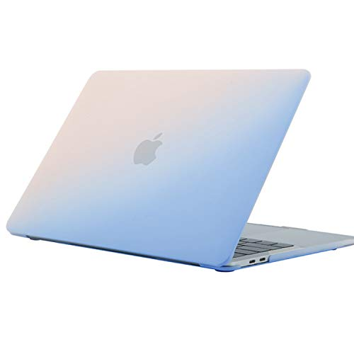 SsHhUu MacBook Air 13 inch Case (Models: A1369 & A1466, Older Version 2010-2017 Release), Ultra Slim Plastic Snap On Hard Shell Protective Case Compatible with MacBook Air 13 inch,Blue Powder