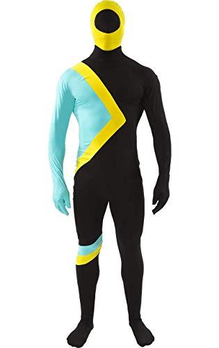 ORION COSTUMES Cool Runnings Ganzkörperkostüm Jamaika Bob Kostüm Karneval Verkleidung Herren
