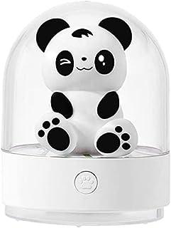 Veilleuse Enfant, Veilleuse BéBé USB Rechargeable Lampe, ABS sûr, résistant à la rupture, soin des yeux, lampe à 7 couleur...