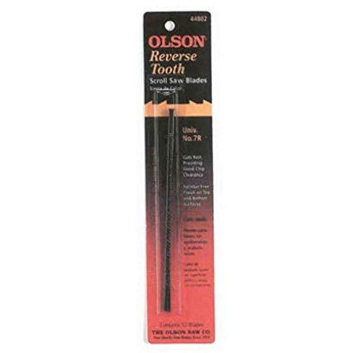 Olson Saw FR44300 Skip Tooth 0.29 x 0.12-Inch 20 TPI Scroll Saw Blade