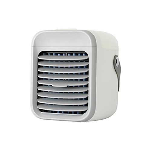 2021 portable ac - Blast portable ac wіth 3 fаn speeds - Blast auxiliary desktop ac ultra cooler, Cooled Air Conditioner, Summer Personal Desktop AC for Home, Office Room Cooler (Gray)