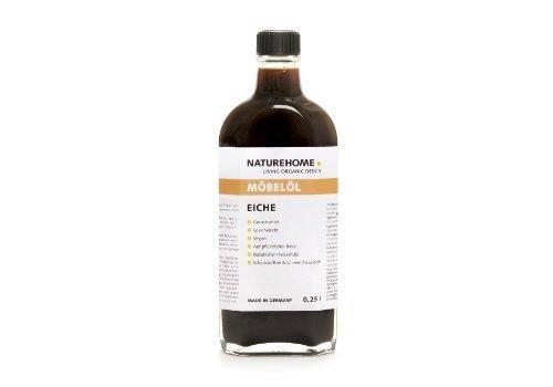 NATUREHOME Möbelöl Eiche 250 ml vegan umweltfreundlich pflanzlich Pflegeöl Holzöl Holzschutz