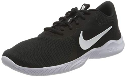 Nike Men's Flex Experience Run 9 Shoe, Black/White-Dark Smoke Grey, 10.5 Regular US