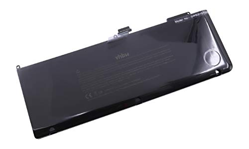 Batterie Li-Polymer 6600mAh (10.95V) vhbw pour MacBook Apple MB985J, A, MB985LL, A, MB985TA, A, MB985X, A, MB985ZP, A comme 020-6380-A, 661-5211, etc.