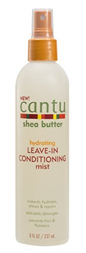 Cantu Shea Butter Hydrating Leave in Conditioning Mist 8 Fluid Ounce