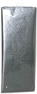 JAM PAPER Shimmer Tissue Paper - Pewter Graphite Grey Silver - 3 Sheets/Pack