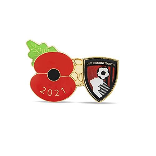 AFC Bournemouth Poppy Football Pin 2021