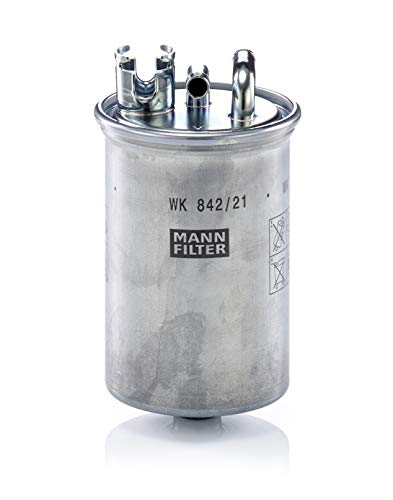 Original MANN-FILTER WK 842/21 x -Kraftstoffwechselfilter mit Dichtung/ Dichtungssatz - für PKW