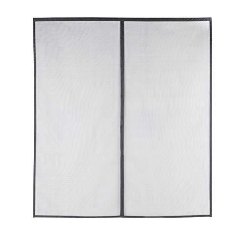 Amazon Basics AB-SD101, Black Magnetic Screen Door-70-Inch x 79-Inch, 70 x 79
