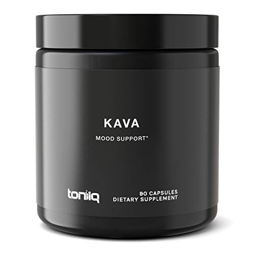 Triple Strength Polynesian Kava Kava Capsules - 30% Kavalactones - The Strongest Kava Supplement Available - 600 mg - Optimal Support for Anti-Anxiety and Stress-Relief - 90 Veggie Capsules