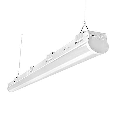 FaithSail 110W 8FT LED Shop Lights, Linkable LED Strip Light, 13800LM, Dimmable, 5000K, Commercial Grade Big Size 8 Foot Linear Ceiling Lighting Fixtures for Warehouse, Garage, Workshop, ETL Certified