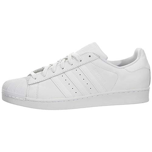 adidas Originals Superstar Foundation B27136, Unisex-Erwachsene Low-Top Sneaker, Weiß (Ftwr White/Ftwr White/Ftwr White), EU 36 2/3