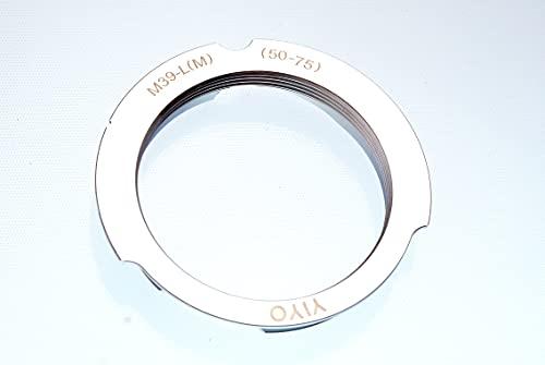 ライカLマウント (L39) レンズ → ライカM マウントアダプター(50mm/75mm)