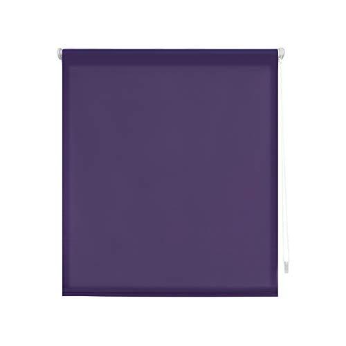 Decoratief gordijn voor muur of plafond, polyester 140 x 180 cm Violet