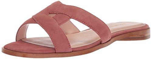 Avec Les Filles Women's Blaye Flat Sandal, dusty rose kid suede, 6.5 M US