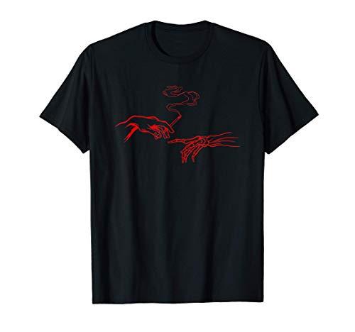 Aesthetic Smoking Hands Soft Grunge Punk Rebel Sad Boy Girl T-Shirt