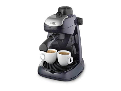De'longhi EC7 - Cafetera hidropresión, 800 w, variedad café, negro y plata